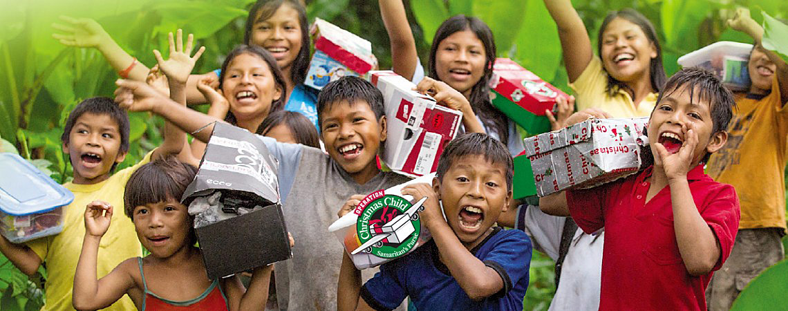 Operation Christmas Child - Reddish Hall
